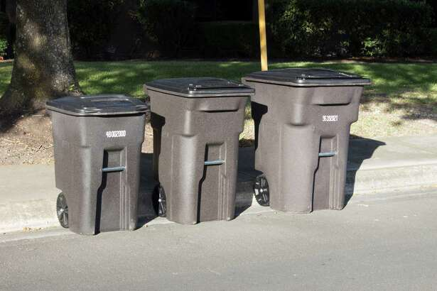 San Antonio residents can now choose the size of garbage cart they prefer: 48 gallons, 64 gallons or 96 gallons and everyone gets the blue recycling and green organics cart as well as the brown garbage cart.