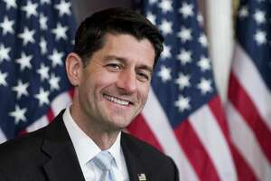 House Speaker Paul Ryan, R-Wisc., at the U.S. Capitol on Nov. 14. Congress is pledging to repeal Obamacare but the only replacement plan put forward has been by Ryan, but it is a plan with no price tag and therefore can't be taken seriously.