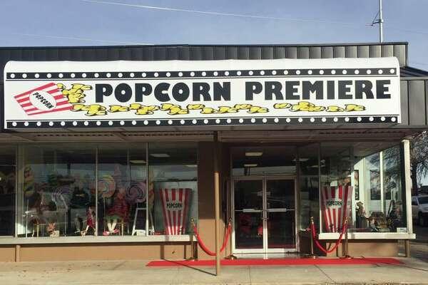 Popcorn Premiere is a boutique shop with more than 50 flavors.