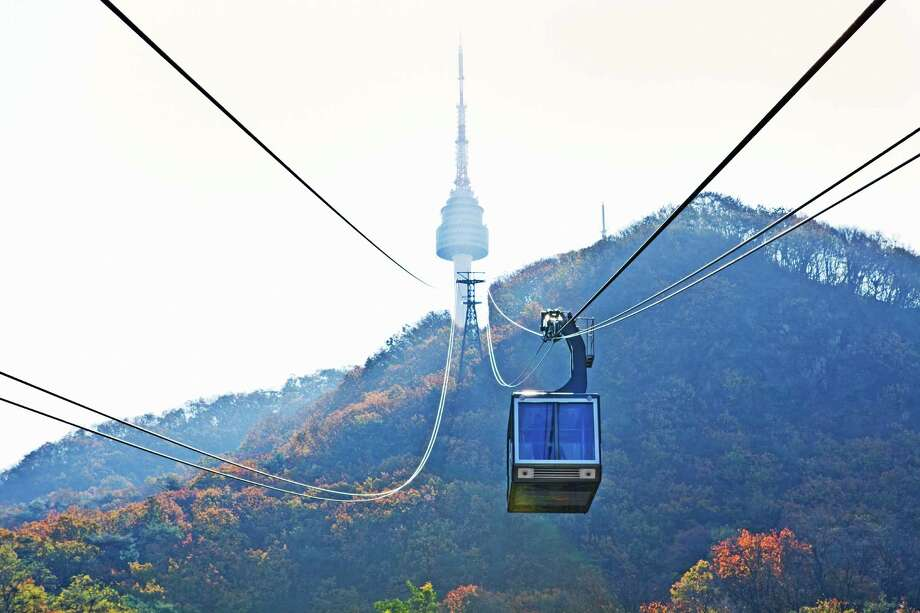 Seoul Tower Photo: Getty Images, Contributor / John W Banagan