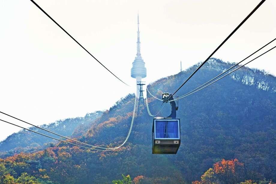 Seoul Tower Photo: Getty Images, Contributor / John W Banagan