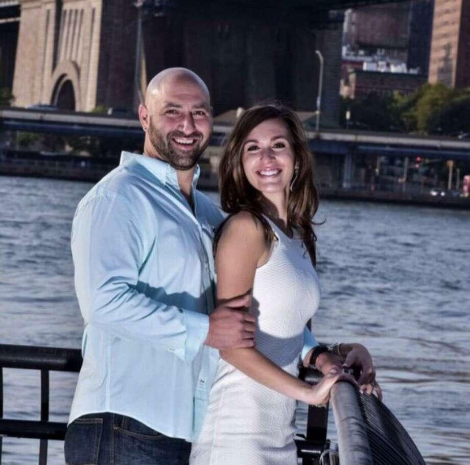 Joshua Critelli and Alyssa Caravakis Photo: / Contributed Photo