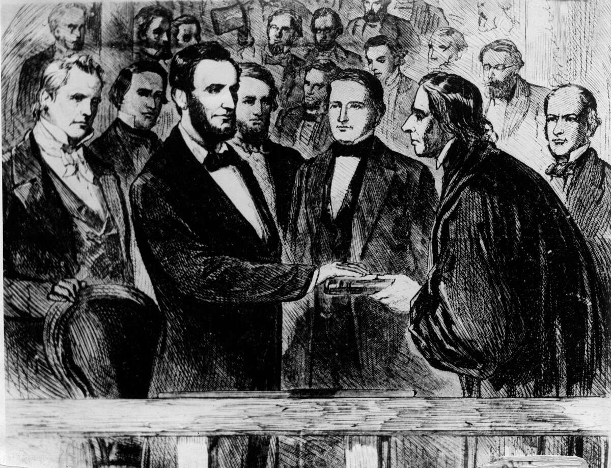 Lincoln In the crowd at Abraham Lincoln's second inaugural in 1865 was a well-known actor. John Wilkes Booth would become famous for other reasons just weeks later.