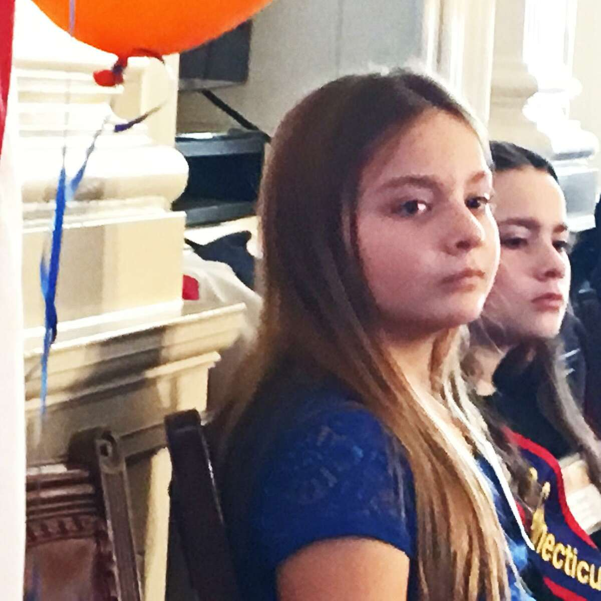 Jessica Brocksom of Milford, Connecticut's new Kid Governor.