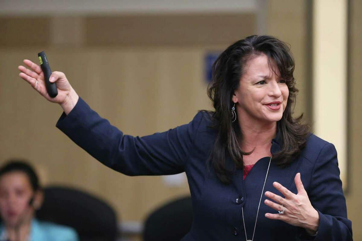 """Chief Academic Officer Delinda Castro says the plan would give South San """"more local control over the needs of our students."""""""