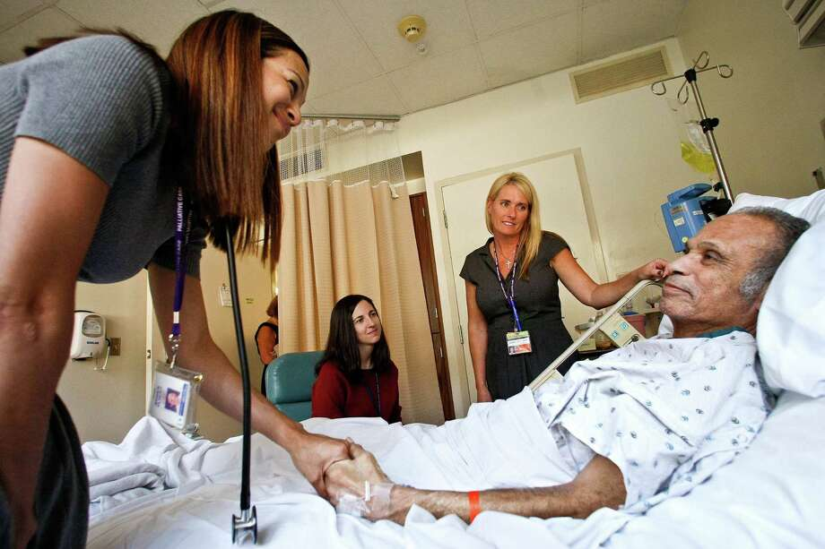 Our health-care providers are bound by oath to do everything that they can to extend lives, even after patients have lost contact with their loved ones and their meaning for existence. Making palliative care available to a larger community could substantially lower health-care costs, but more important, it will reduce suffering. (Mel Melcon/Los Angeles Times/MCT) Photo: Mel Melcon