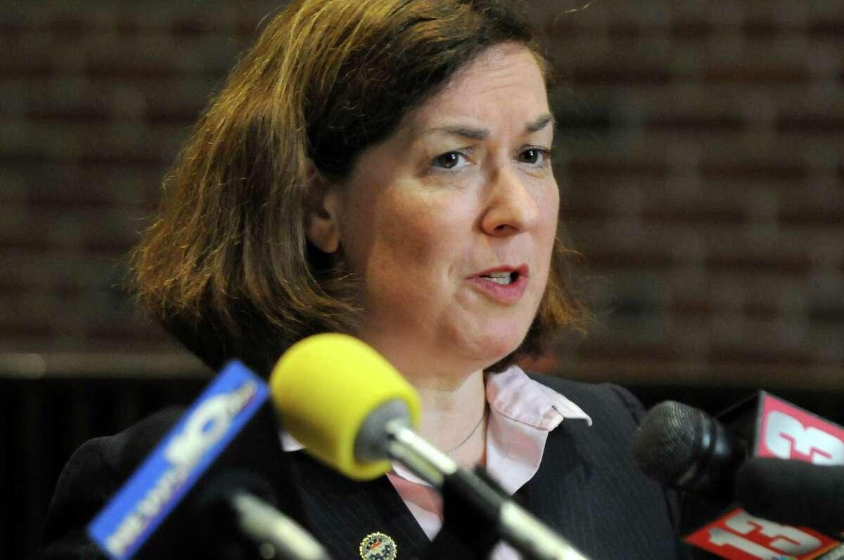 Saratoga County District Attorney Karen Heggen. (Cindy Schultz / Times Union)