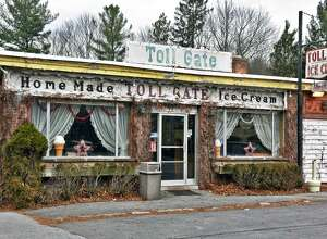Exterior of Toll Gate Ice Cream on New Scotland Avenue Saturday Jan. 14, 2017 in Slingerlands, NY.  (John Carl D'Annibale / Times Union)