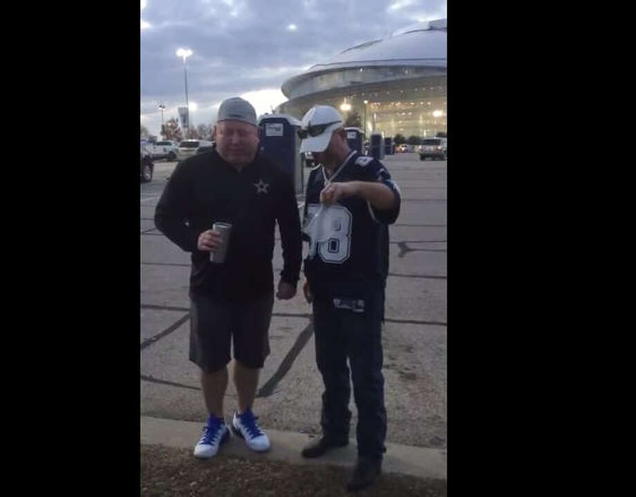 A Dallas Cowboys fan got his final wish - to have his ashes spread at AT&T Stadium.Kyle Grant filled an unusual request before the Dallas Cowboys-Detroit Lions game on Dec. 26, 2016. He took a friend of his mother-in-law to the game and left him there. Photo: YouTube