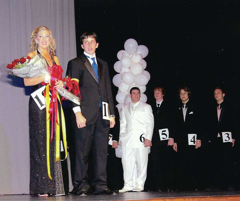 Among this year's judges at Deer Park High School's Majestic Court will be  Laura Cothran, shown when she was a winner of the event in 2005 along with another winner from that year, Kent Harrell.