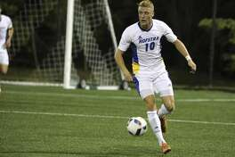 The Dynamo selected midfielder Joe Holland with the No. 10 overall pick in the 2017 MLS SuperDraft. He played four seasons at Hofstra University.