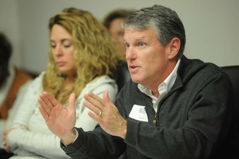 Rick Davis speaks during a two-day planning retreat for the Midland Independent School District board members, Saturday, Jan. 14, 2017, at the MISD Office on Missouri Ave. James Durbin/Reporter-Telegram Photo: James Durbin