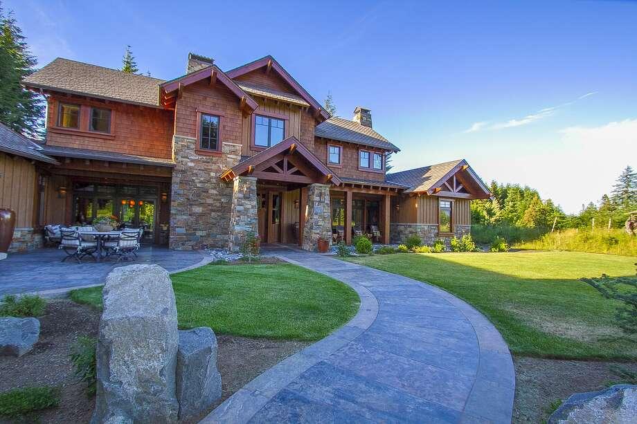 A custom-built home. Photo: Suncadia
