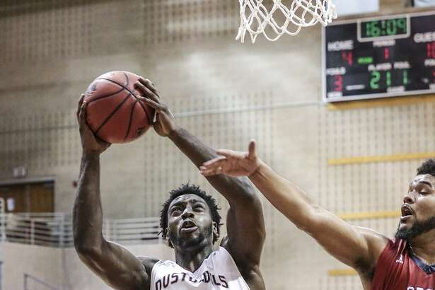 Deveino McRae had a career game on Saturday recording 15 points and 13 rebounds leading TAMIU to a 51-45 victory at St. Mary's. Even with an overtime period, the Dustdevils recorded their fifth-fewest points allowed in school history.