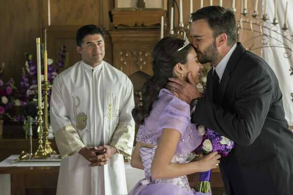 "Navy SEAL Ricky ""Buddha"" Ortiz (Juan Pablo Raba) celebrates his daughter's quinceanera in ""Six."""