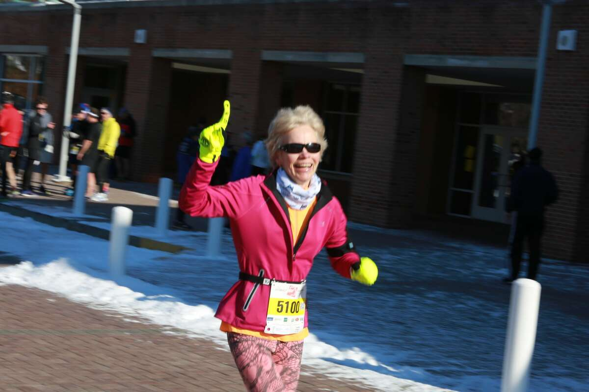 Brien McMahon High School in Norwalk held a Boston Buildup 10km on January 15, 2017 as part of the winter series. Were you SEEN training for the Boston Marathon or cheering on a runner?