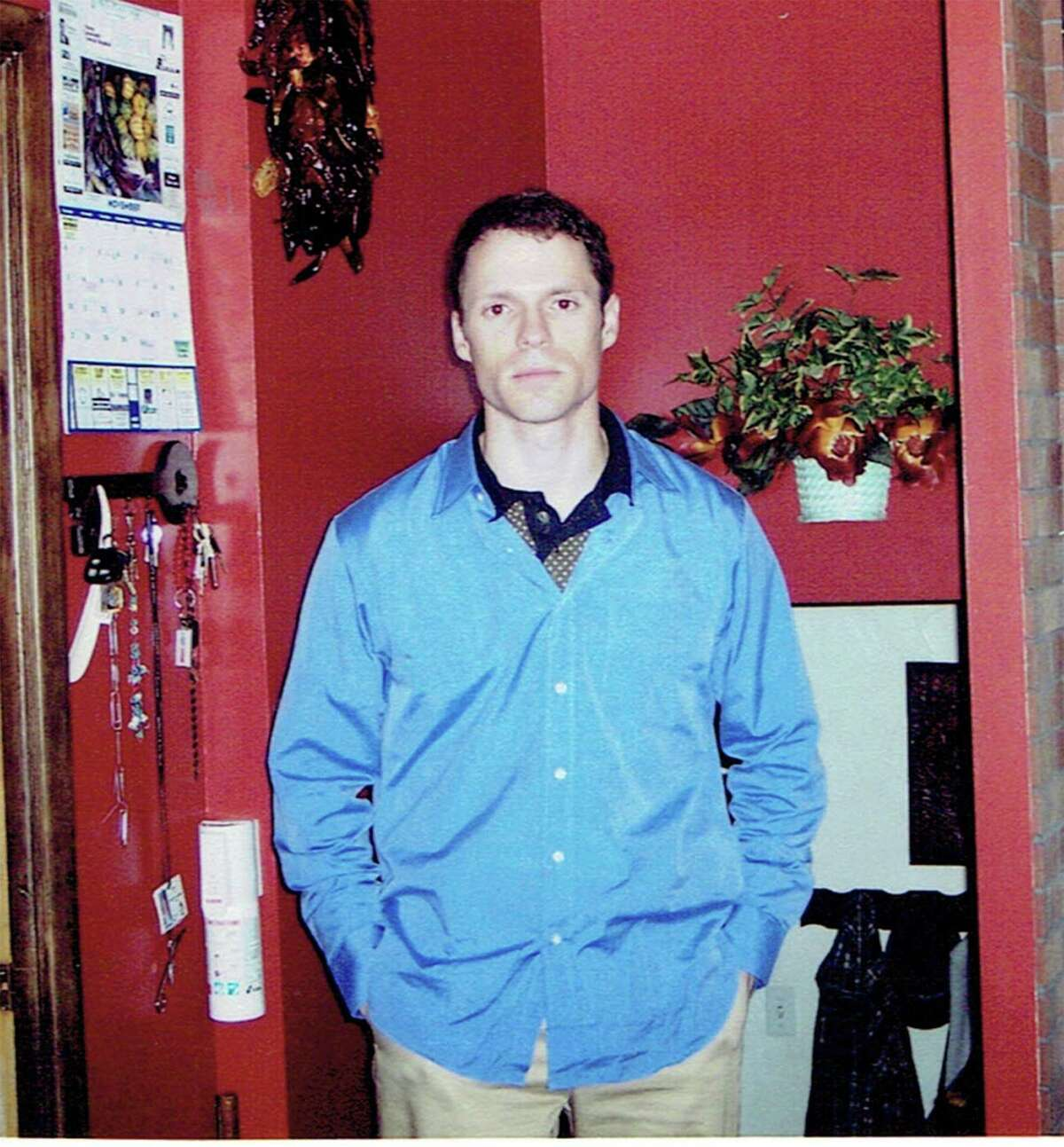 Steven Bellino is photographed at his parents' home in Parma, Ohio.