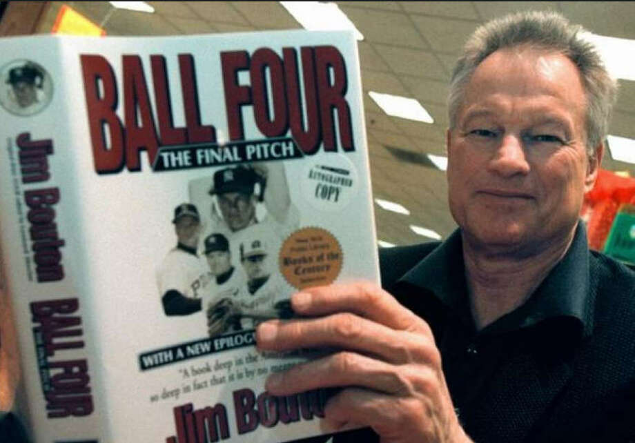"A pitcher turned author is letting the public have crack at his working materials.Former Houston Astros pitcher Jim Bouton is auctioning off his memorabilia, including materials that led to the book ""Ball Four."" Photo: JimBouton.com"