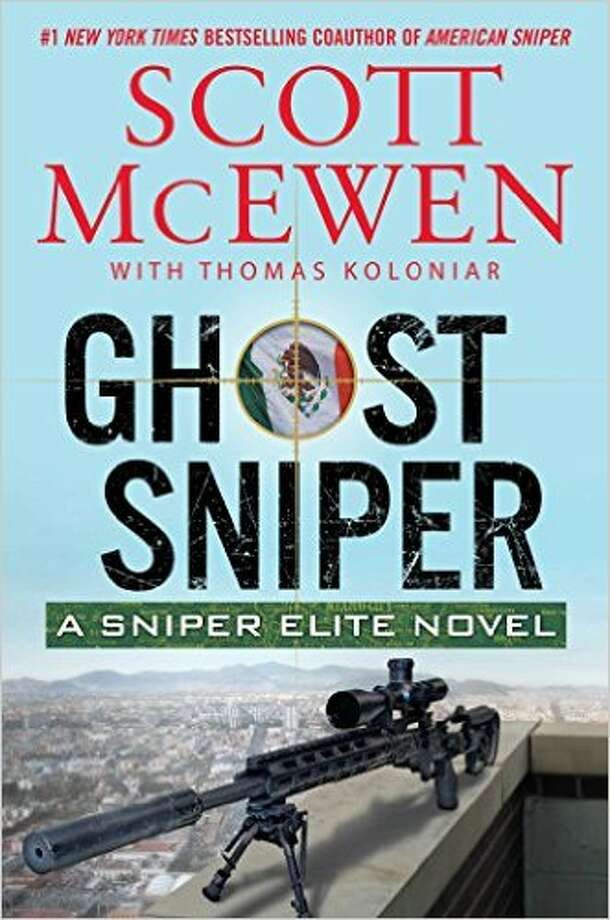 """Ghost Sniper"" is another book in the continuing ""Sniper Elite"" novels by Scott McEwen. Photo: File"
