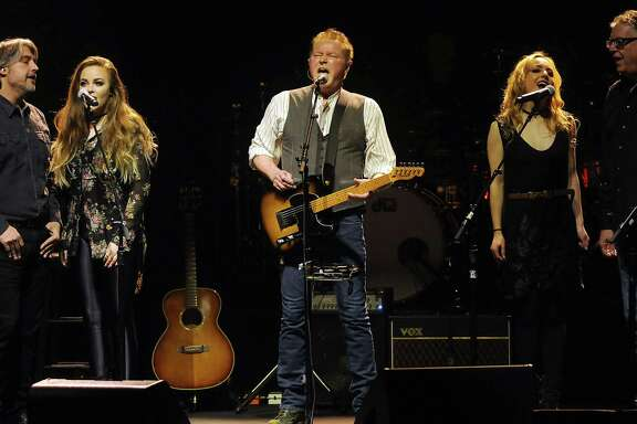 Don Henley performs the first music show at the new Smart Financial Centre in Sugarland Sunday Jan. 15, 2017.(Dave Rossman photo)