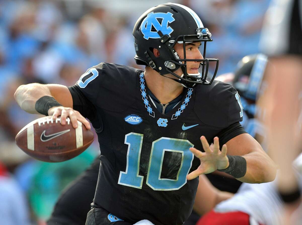 BEST QUARTERBACKS IN 2017 NFL DRAFT Mitch Trubisky, North Carolina 6-3, 220 Projected: Top 12 Perhaps the biggest bit of intrigue at the combine for Trubisky will be his actual height. Some speculate that he is shorter than 6-3. Trubisky is a bit of an unknown because he rode the bench at North Carolina for three seasons before finally earning the starting spot this season, so he only has 13 collegiate starts under his belt. He has the physical traits NFL teams covet to go along with a strong arm. It's a small sample size, but he completed 68 percent of his passes this season with 30 touchdowns and just six interceptions.