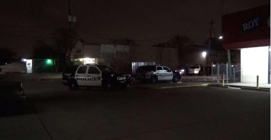 Three men were found shot about 9:30 p.m. Sunday near the 7500 block of Long Point in northwest Houston. (Metro Video)