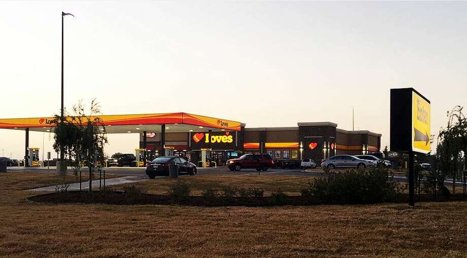 The new Love's Travel Center in Angleton brings 50 jobs to Brazoria County. (Contributed photo)