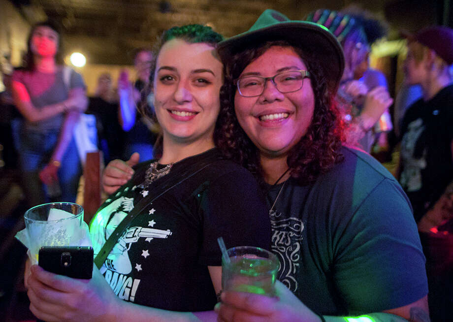 Girl in a Coma rocked The Bang Bang Bar Sunday, Jan. 15, 2017, in a day-long anniversary bash. Photo: B. Kay Richter