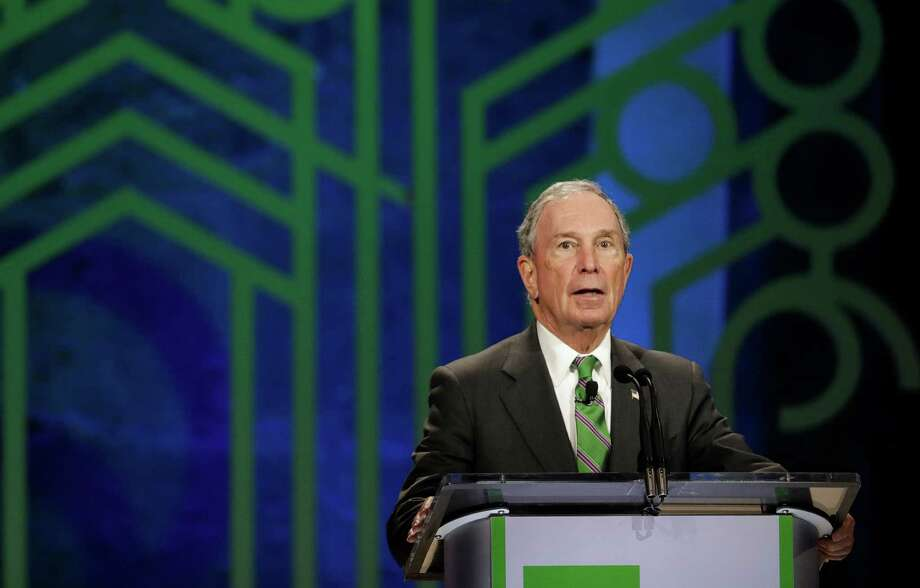 Former NYC Mayor Michael Bloomberg will speak at Rice University's commencement. (AP Photo/Rebecca Blackwell, file) Photo: Rebecca Blackwell, Associated Press / Copyright 2016 The Associated Press. All rights reserved.