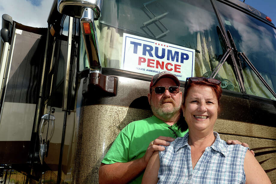 Judy and Mike Nichols spent last week stocking up their RV to head out to Washington, D.C., where they will join in the inaugural festivities for President-elect Donald Trump next Friday. They are among a group of 60-some area Republicans who are attending the event. Photo taken Friday, January 13, 2017 Kim Brent/The Enterprise Photo: Kim Brent