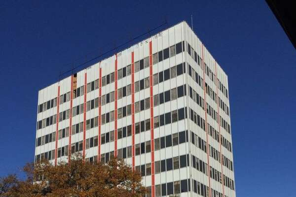 A local developer plans to rehabilitate a 10-story downtown building at 601 N. St. Mary's St. into apartments.