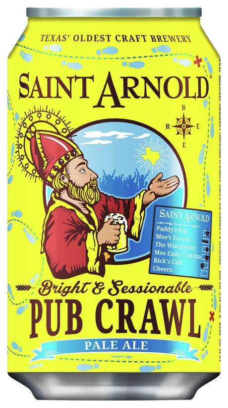 Saint Arnold Brewing Co. releases Pub Crawl Pale Ale Jan. 16, 2017. Photo: Saint Arnold Brewing Co.