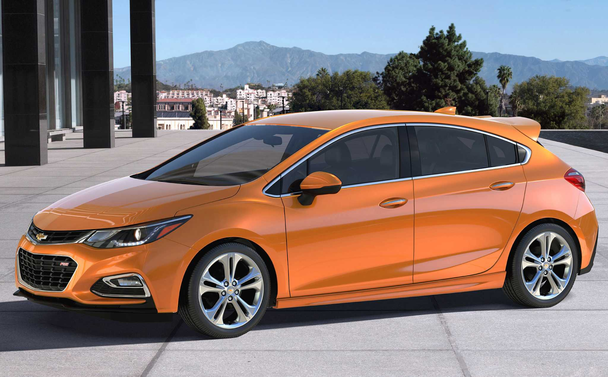 Chevrolet's all-new Cruze Hatch joins the lineup for 2017
