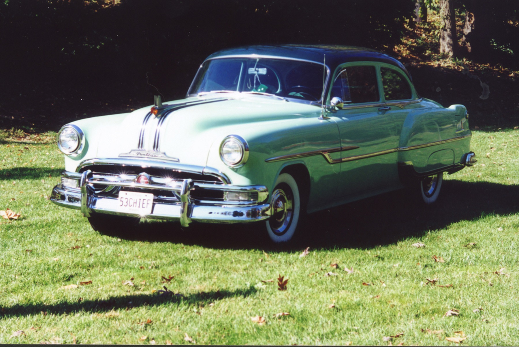 Movie inspires acquisition of 1953 Pontiac Chieftain