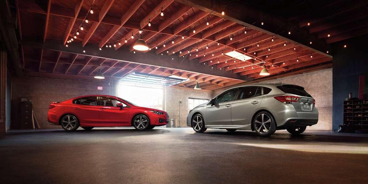Lowest depreciation 10. Subaru Impreza Average 5-year depreciation: 38.3%