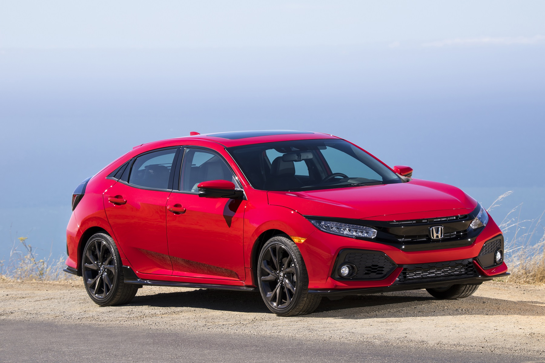 2017 Honda Civic Hatchback features five-door versatility