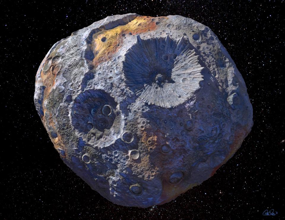 NASA to explore asteroid made of $10,000 quadrillion worth of metal