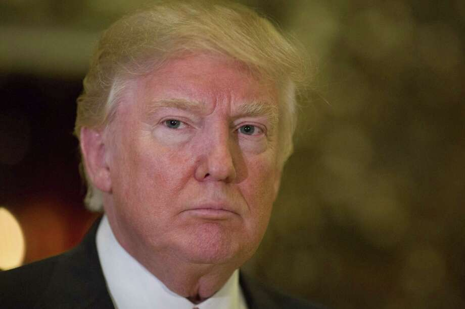 President- elect Donald Trump backs more money for defense. Photo: KEVIN HAGEN /NYT / NYTNS