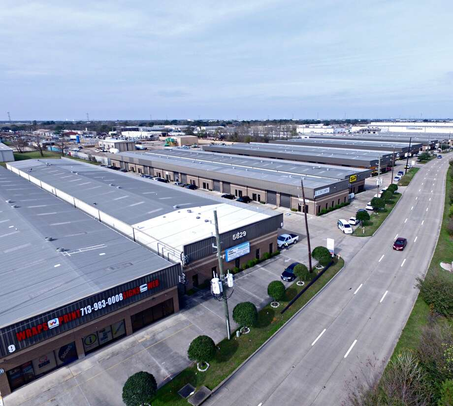 Gupta Partners has purchased the nine-building Beltway 8 Industrial Park, containing  276,000 square feet of flex space along West Sam Houston Parkway North between Brittmoore and Tanner. Photo: Moody Rambin