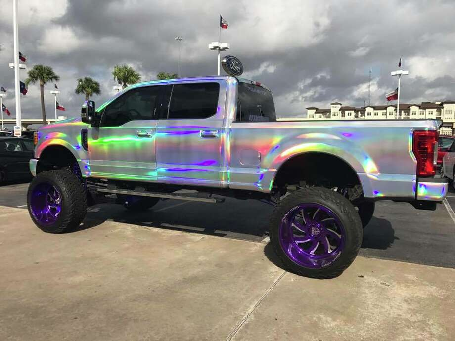 Texas Dealership Wraps Ford Super Duty In Rainbows Now It