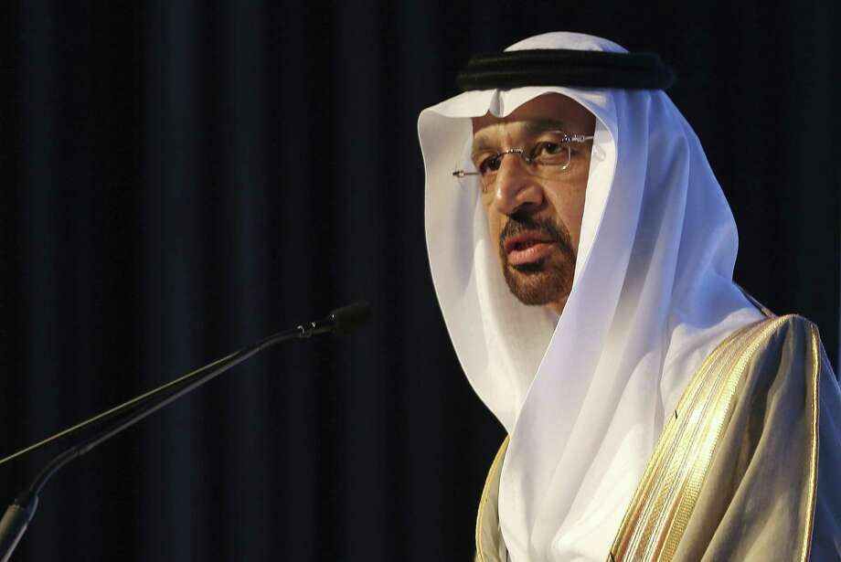 OPEC probably won't need to prolong output cuts beyond the agreed six-month term given the level of compliance with the reductions and the outlook for an increase in global consumption, Saudi Minister of Energy and Industry Khalid al-Falih says. Photo: Kamran Jebreili /Associated Press / Copyright 2017 The Associated Press. All rights reserved.