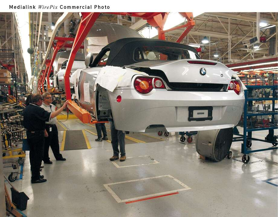BMW, which has been churning out autos at its plant in Spartanburg, South Carolina, for more than two decades, plans to expand capacity there to 450,000 units annually from about 411,000 in 2016. The factory, which makes almost all of BMW's SUVs sold worldwide, is one of the largest exporters of vehicles out of North America. Photo: BMW / BMW/NS