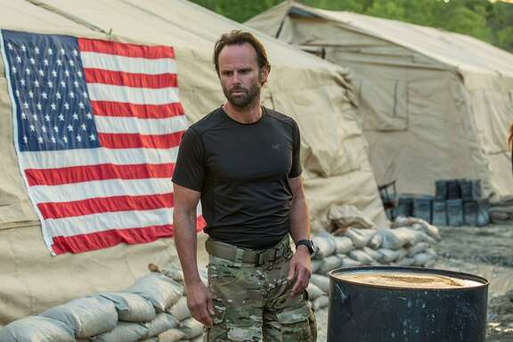 "Walton Goggins is one of the stars of The History Channel's new series, ""SIX,"" which depicts the adventures of Navy SEAL Team Six."