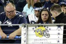 Dallas Cowboys fans may have been dejected after the Cowboys' 34-31 loss to the Green Bay Packers in the NFL divisional playoff game Sunday, but their tweets tell another story.
