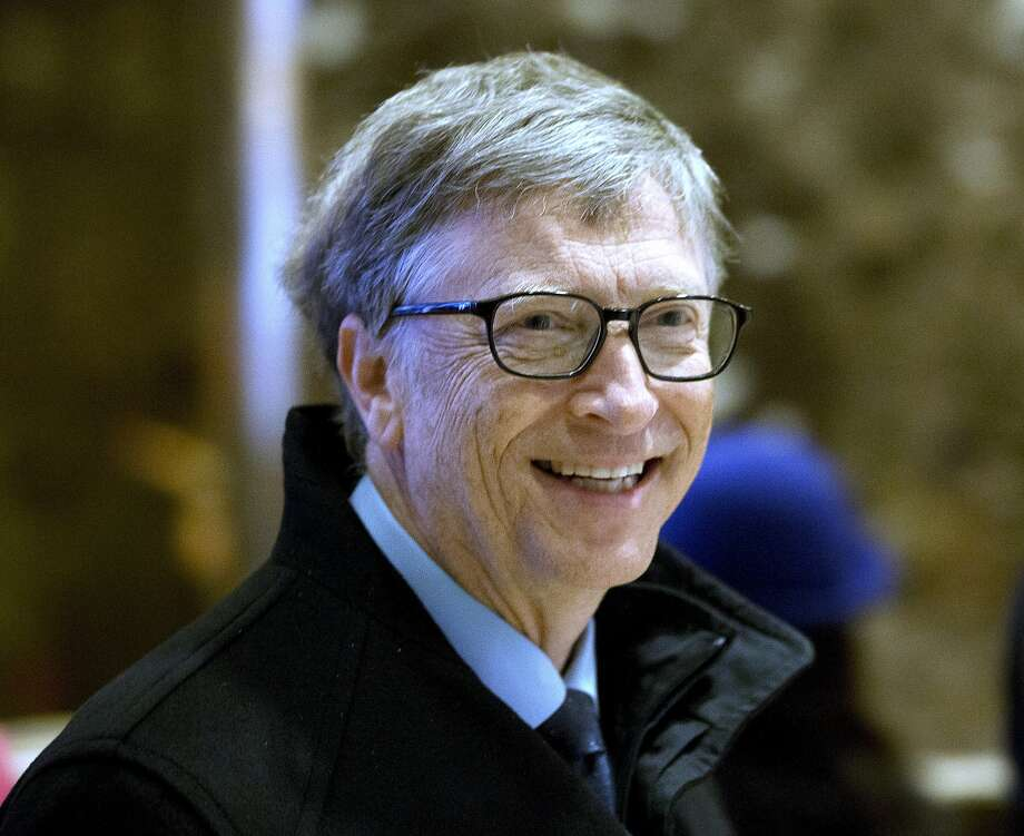FILE - In this Tuesday, Dec. 13, 2016 file photo, Bill Gates arrives to Trump Tower in New York. Photo: Seth Wenig, Associated Press