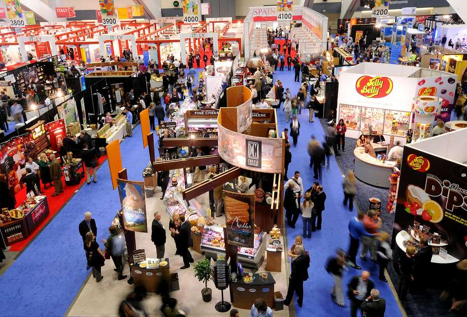 A previous Winter Fancy Food Show at Moscone Center: This year's exhibits reveal a trend toward soothing teas and addressing gut health. Photo: Noah Berger, Special To The Chronicle