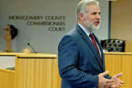 Montgomery District Attorney Brett Ligon urges Montgomery County Commissioners to develop a strong ethics policy for ethics reform across the county.