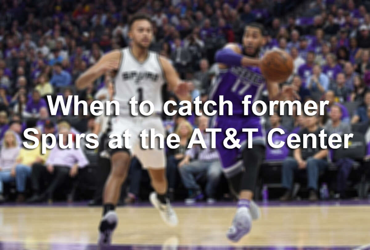 Disciples of coach Gregg Popvich pervade the NBA, touching seemingly every corner of the country. You can find erstwhile Spurs on both coasts, but at some point this season, each man will return to San Antonio. Click through the slides above to find out which former Spurs players are returning to the AT&T Center, and when.