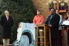 Calvin Fergins Jr., 33, is the new pastor of Northville Baptist Church.