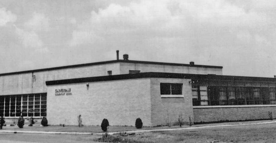 HISTORICAL PHOTOS OF CARVERDALE, CY-FAIR'S SEGREGATED SCHOOL FOR BLACK STUDENTSThe Carverdale campus in the 1950s.  Photo: Cy-Fair ISD